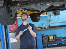 Wheel alignment & safety inspection